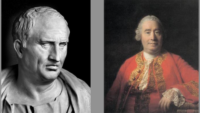 Cicero and Hume