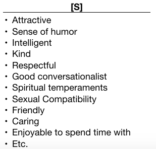 Good qualities in a person list
